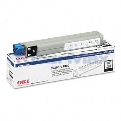 OKIDATA C9600/9800 TONER CARTRIDGE BLACK